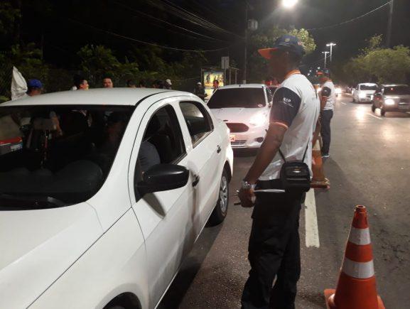 Sete motoristas são presos em flagrante por embriaguez ao volante no feriado prolongado em Manaus