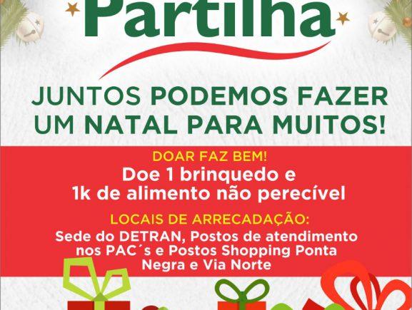 Campanha de Natal 'Detran Presente'