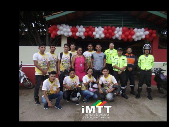 Em Itacoatiara, Detran-AM apoia campanha 'Volta às Aulas' da Prefeitura Municipal