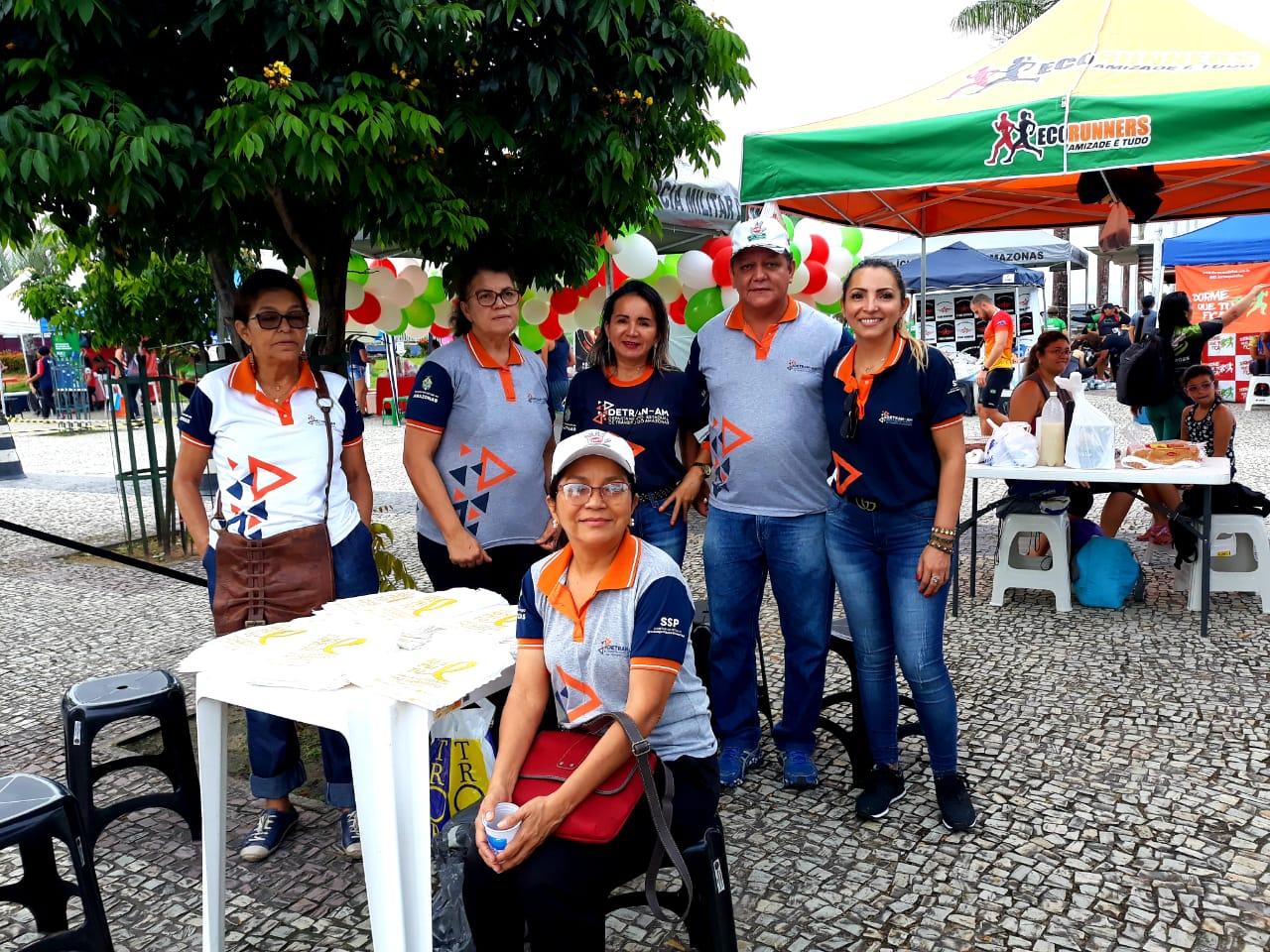 Detran-AM participa da 36ª Corrida Tiradentes e Corridinha Tiradentes