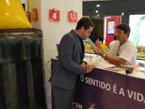Detran-AM leva ação educativa a shopping de Manaus