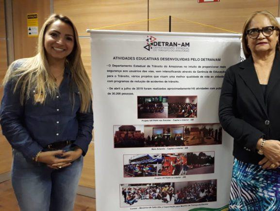 Detran-AM participa de encontro de educadores de trânsito em Brasília