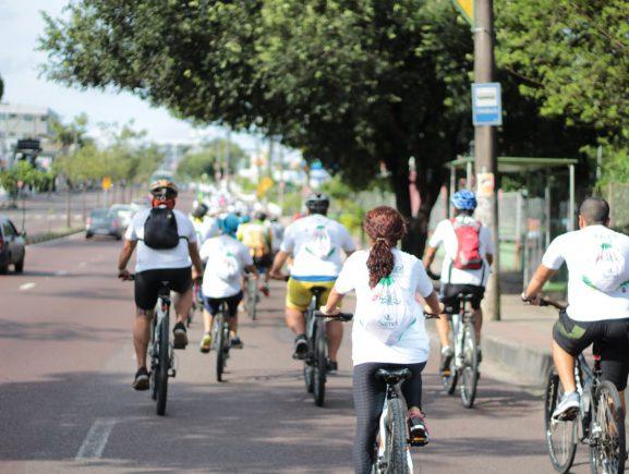 Detran-AM e grupos de pedal promovem passeio ciclístico em alusão ao Dia Mundial Sem Carro, no próximo domingo (22/9)