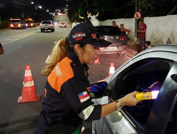 Operação Lei Seca autua mais 20 motoristas embriagados em seis dias