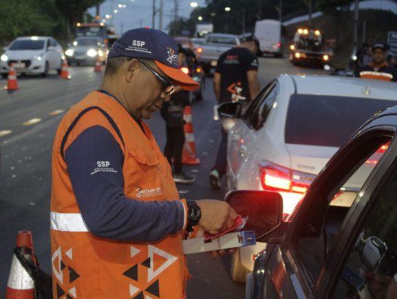 Operação Lei Seca flagrou 19 motoristas embriagados entre quarta (27/11) e domingo (1º/12)