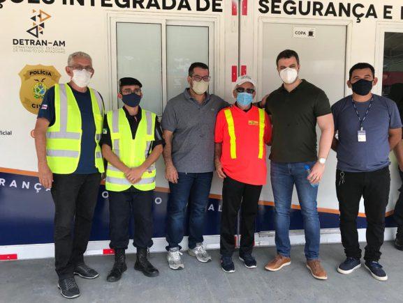 Módulo de Operações Integrada de Segurança e Proteção Social é inaugurado em Rio Preto da Eva