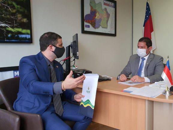 Presidente do Detran-AM prospecta recursos federais, em Brasília, para o programa de Interiorização do Trânsito no Amazonas