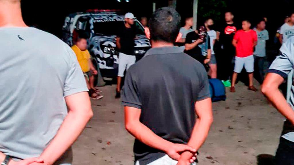 Detran-AM encerra festa clandestina após denúncia anônima