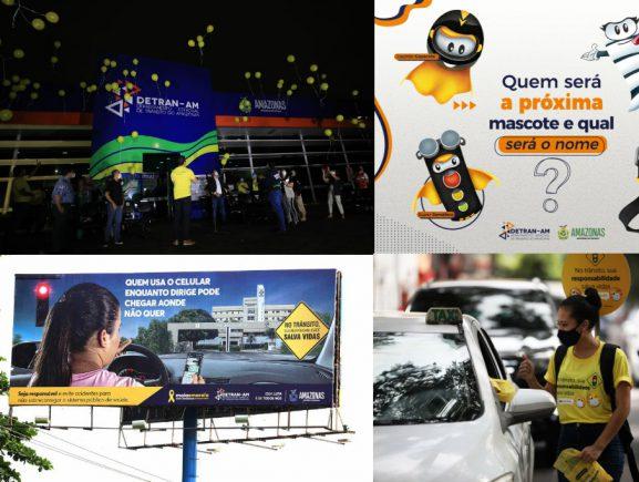 Detran-AM divulga balanço do Maio Amarelo
